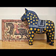 Sunnerbo Wall Hanging Horse with historic reference – 4'' $37.00